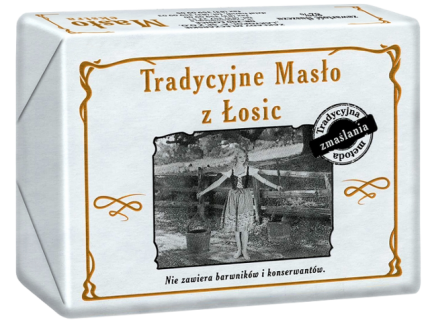 Masło Extra Tradycyjne z Łosic 200G